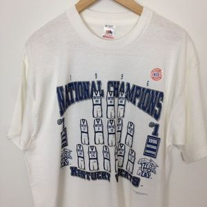 Kentucky  UK National Champions Wildcats 1996 XL